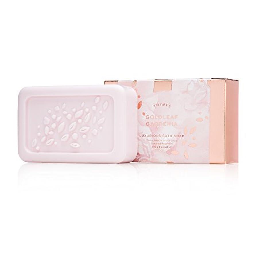 寄り添う簡潔な精緻化タイムズ Goldleaf Gardenia Luxurious Bath Soap 170g/6oz並行輸入品