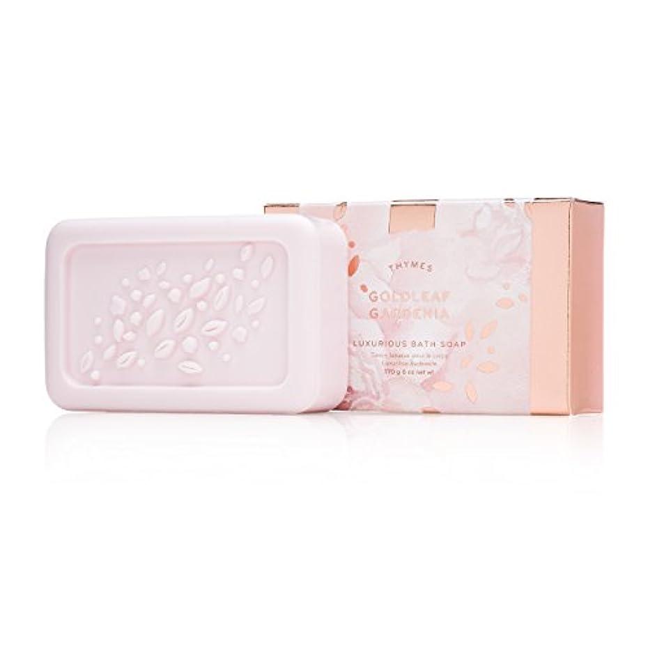 コック不承認血色の良いタイムズ Goldleaf Gardenia Luxurious Bath Soap 170g/6oz並行輸入品