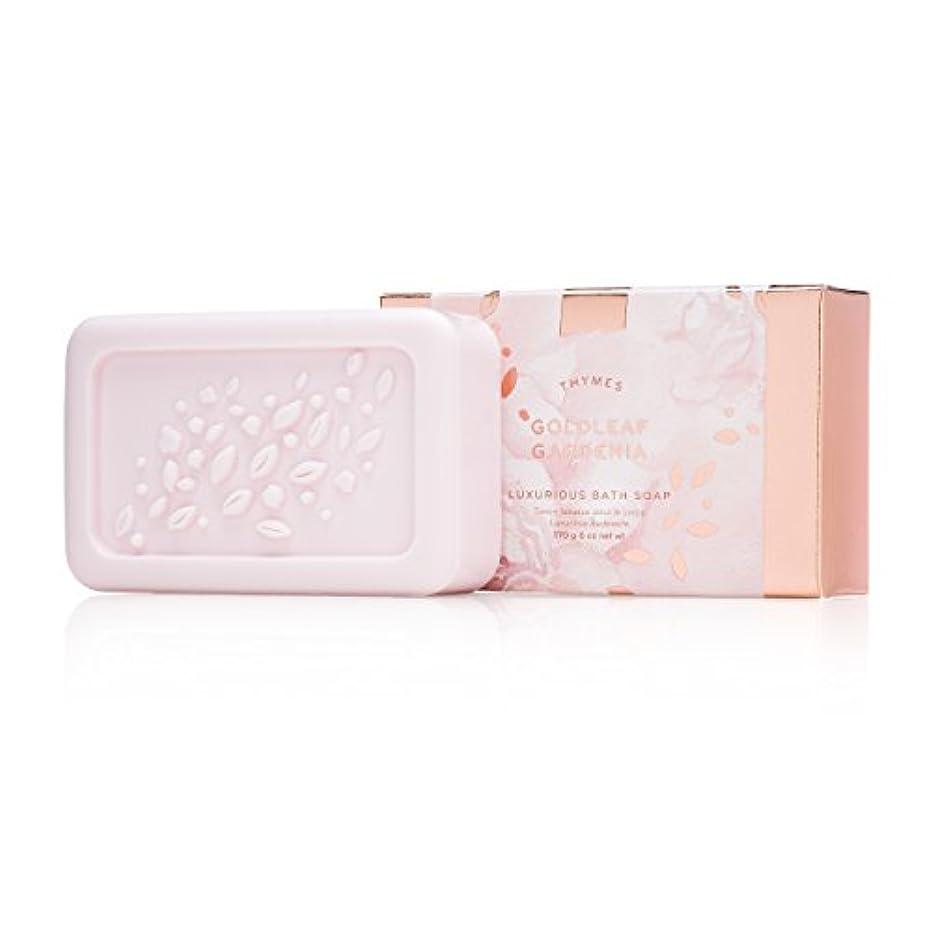 群衆中世のソフィータイムズ Goldleaf Gardenia Luxurious Bath Soap 170g/6oz並行輸入品