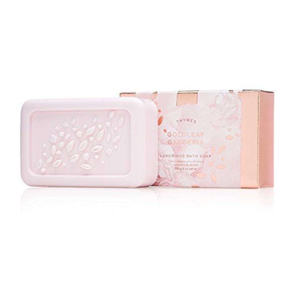 示すステレオ啓発するタイムズ Goldleaf Gardenia Luxurious Bath Soap 170g/6oz並行輸入品