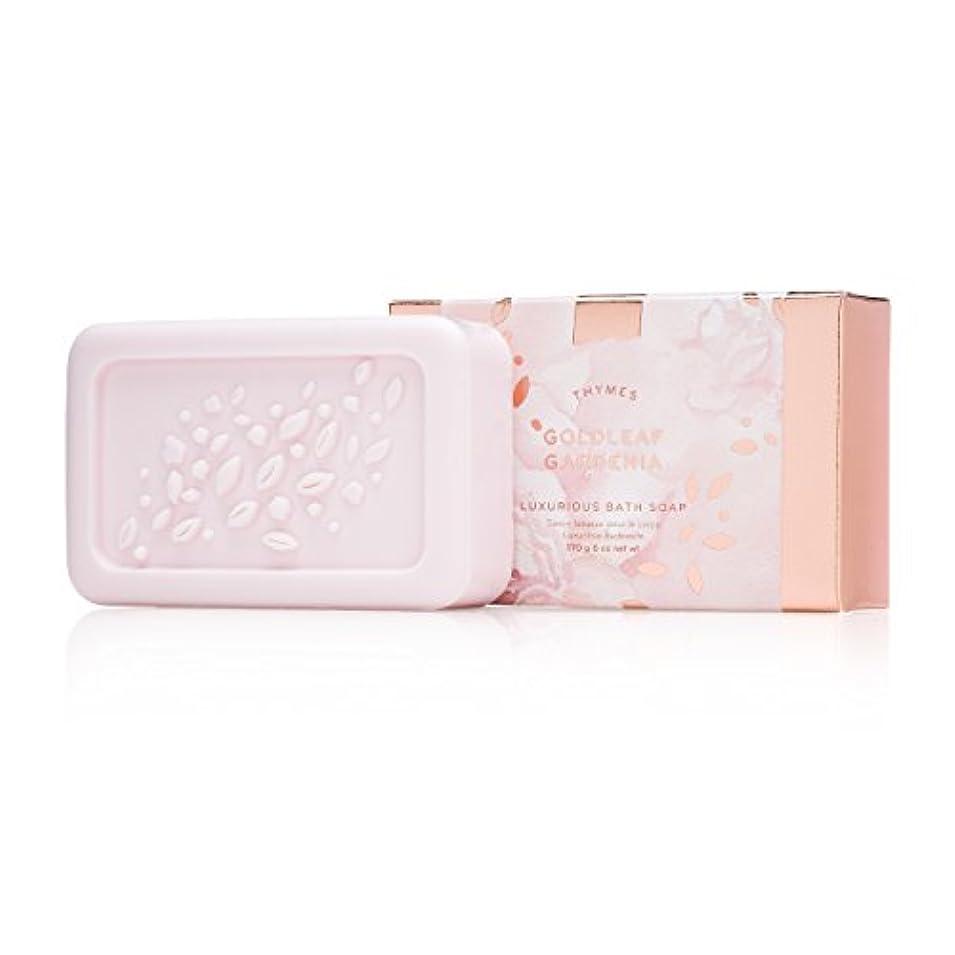 設計リサイクルする見通しタイムズ Goldleaf Gardenia Luxurious Bath Soap 170g/6oz並行輸入品