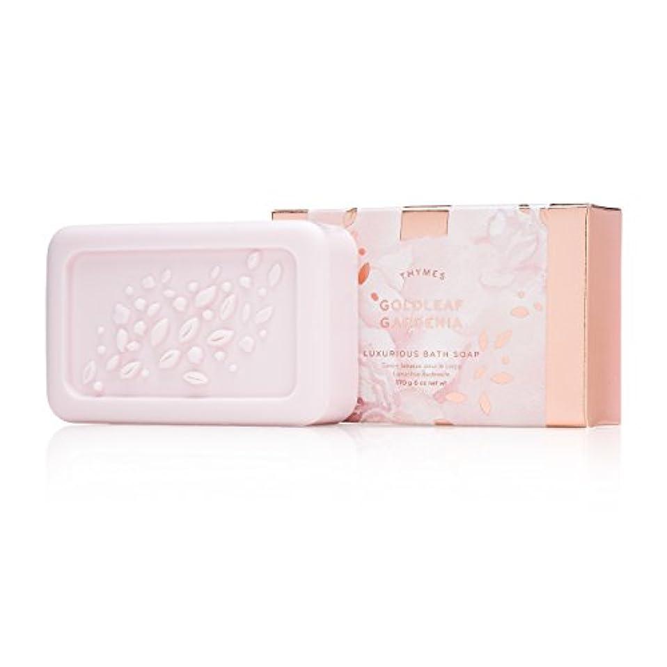 メナジェリーフォークジャンプするタイムズ Goldleaf Gardenia Luxurious Bath Soap 170g/6oz並行輸入品