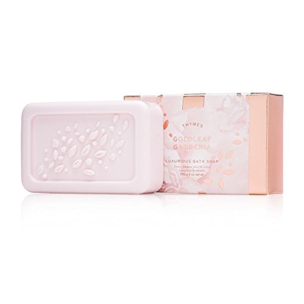 モットー一月起点タイムズ Goldleaf Gardenia Luxurious Bath Soap 170g/6oz並行輸入品