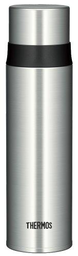 サーモス 水筒 ステンレススリムボトル 0.5L ステンレスブラック FFM-500 SBK