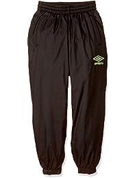 [アンブロ] JR ピステ ロングパンツ 保温 防風 はっ水 冬 トレーニング 温める ポケット有 ラインドサ-モパンツ キッズ