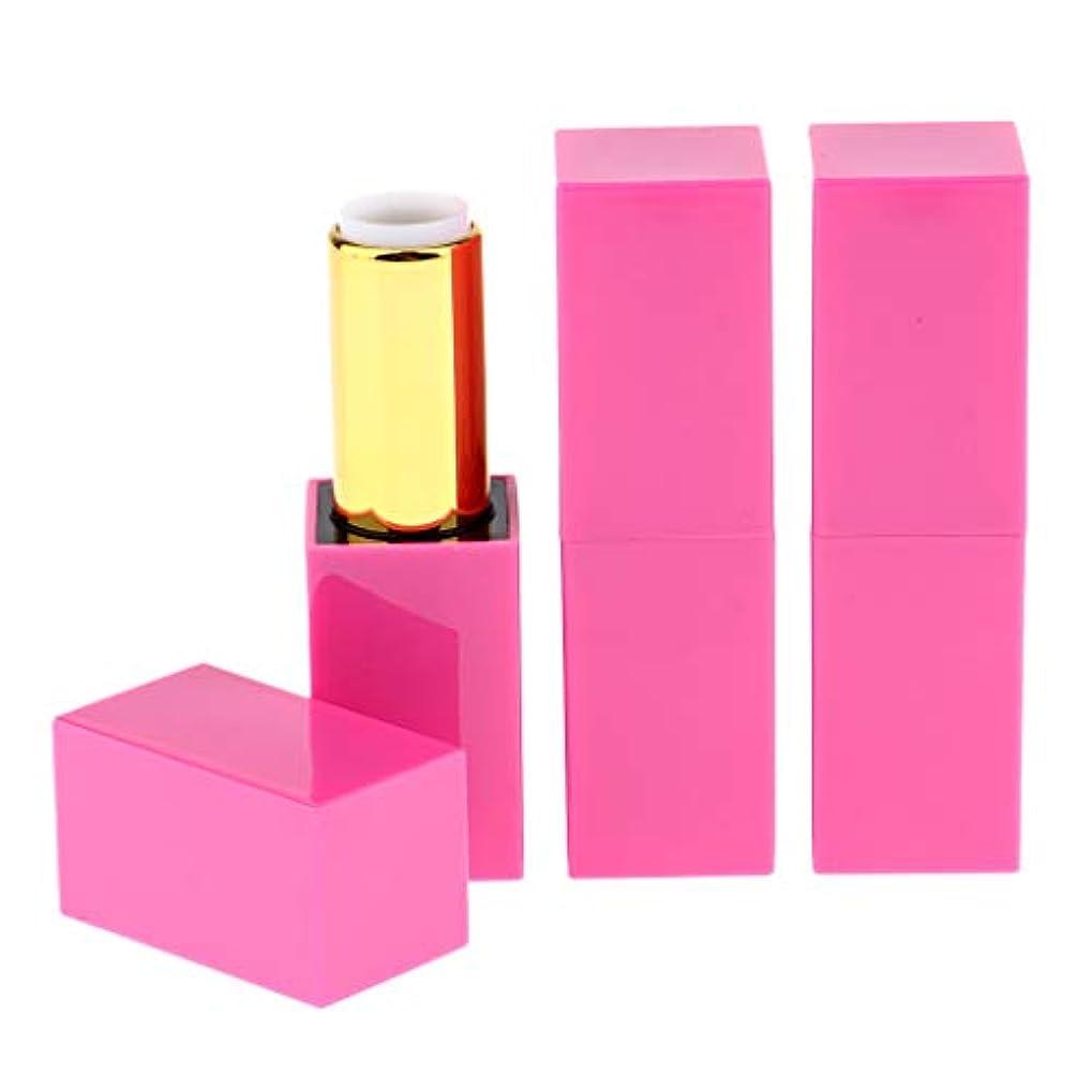 最適麻痺させるチャーム化粧チューブ 空の口紅チューブ リップグロスチューブ リップクリーム容器 3個セット