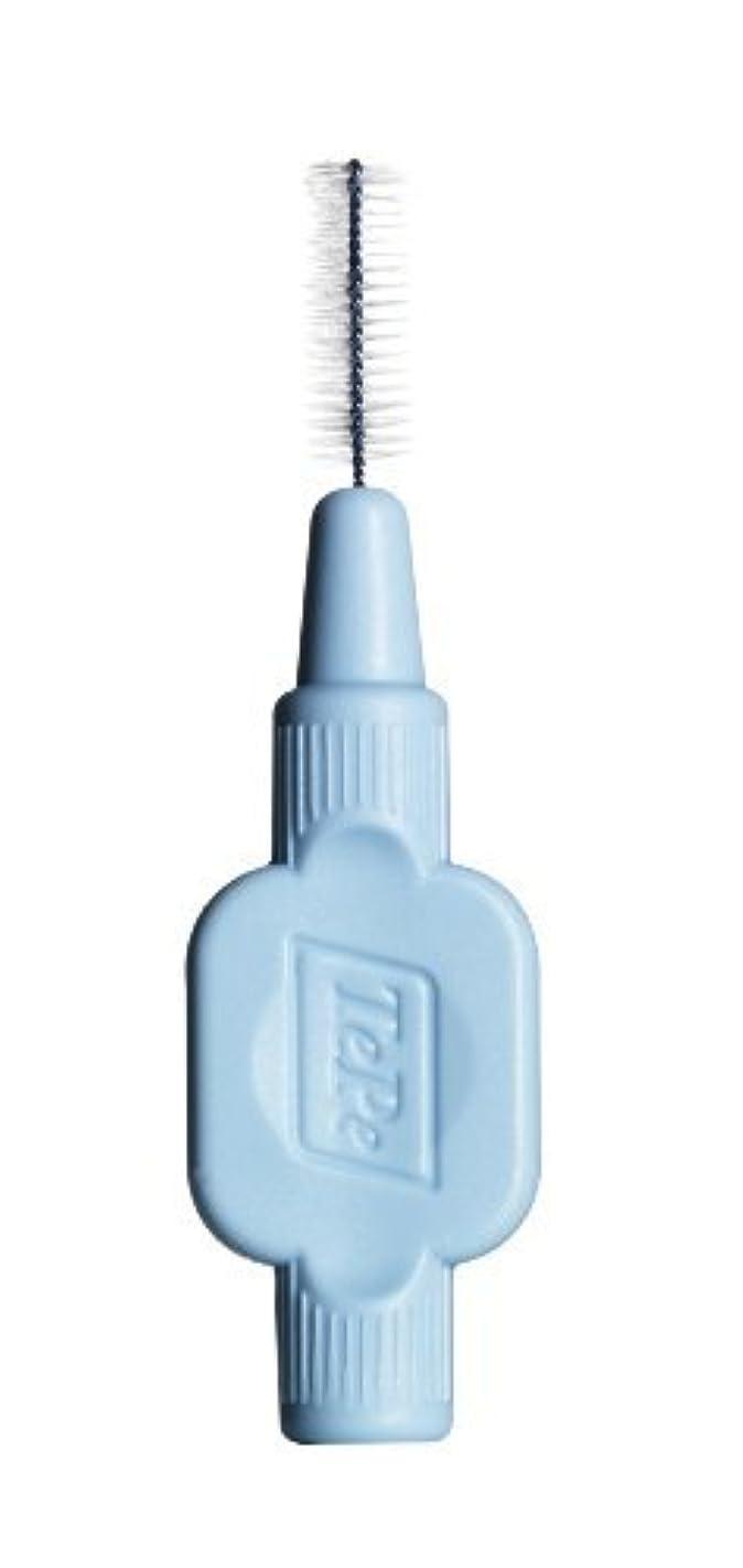 申し立てるむしゃむしゃ進行中TePe Extra Soft Interdental Brushes 1 Pack (8 Brushes) - Blue 0.6mm by TePe