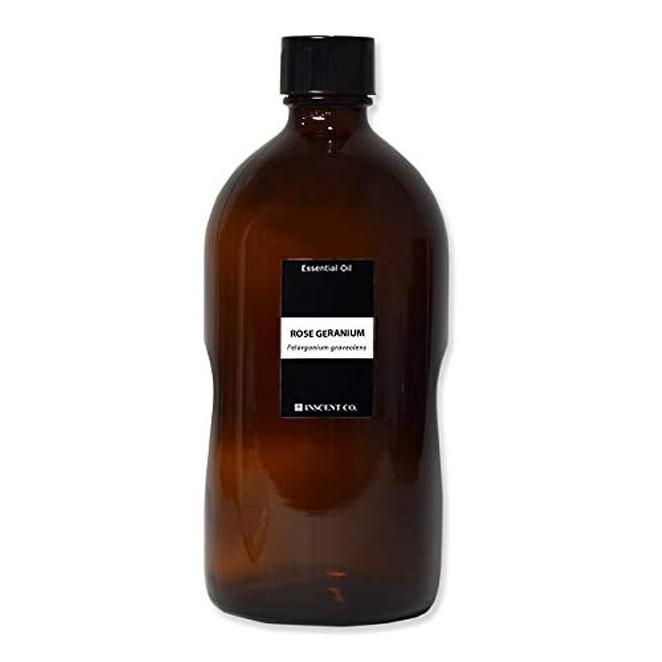 迷惑インストラクター剃る(業務用) ローズゼラニウム 1000ml インセント アロマオイル AEAJ 表示基準適合認定精油