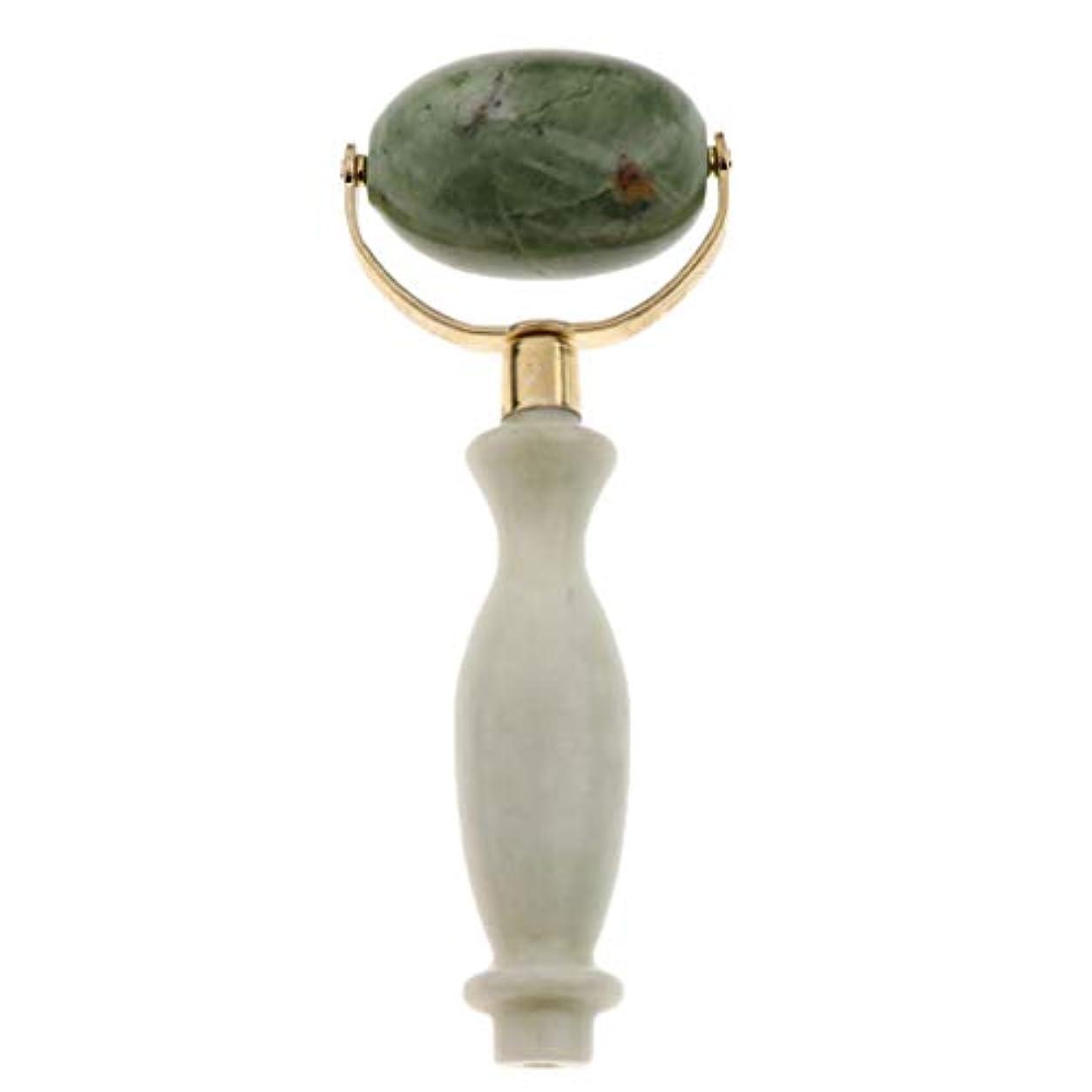 屋内最初アラブ人美容ローラー 美顔ローラー フェイシャル マッサージ 美顔器 美肌 天然 翡翠石 2種選ぶ 健康 - スタイル2