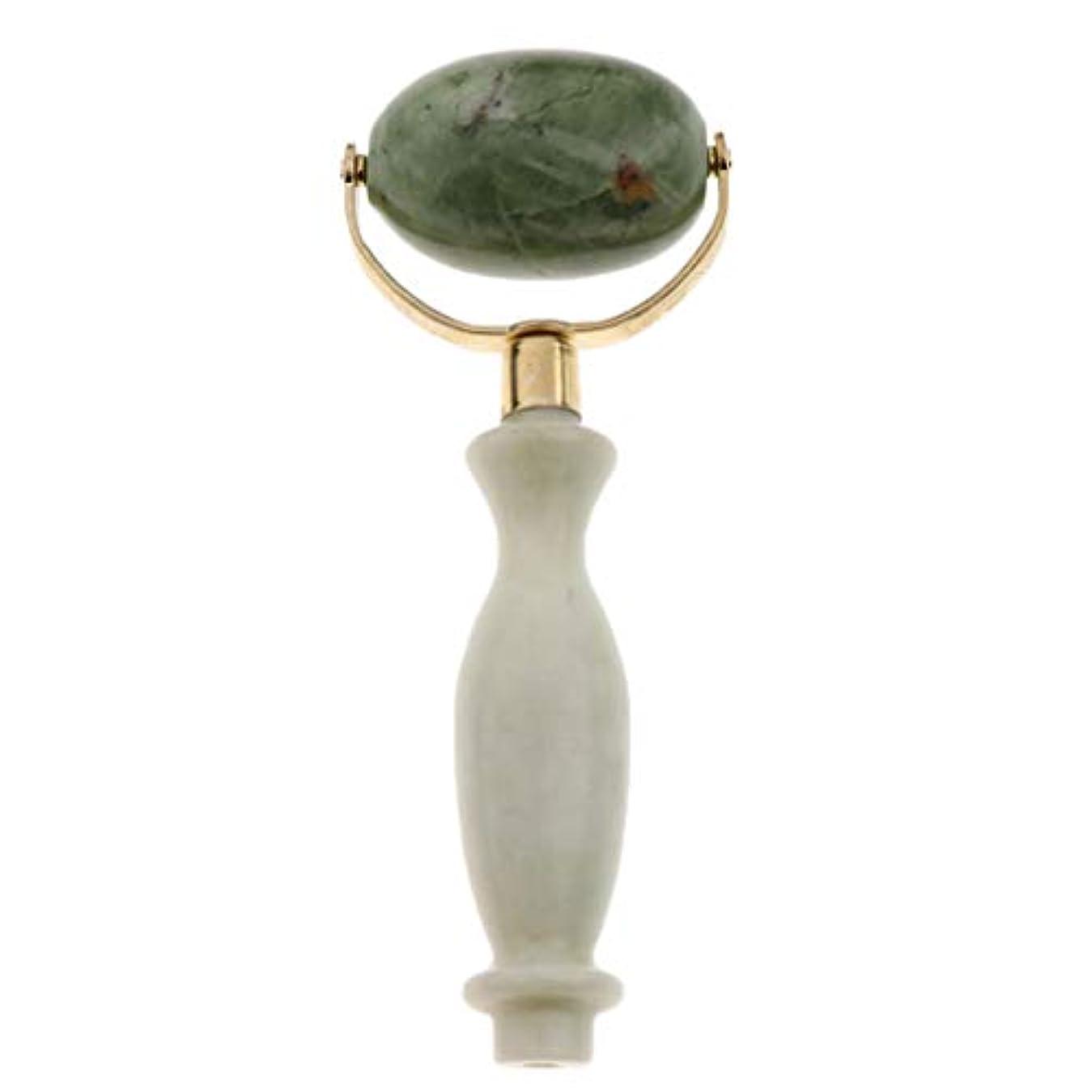 変化フローティング分散美容ローラー 美顔ローラー フェイシャル マッサージ 美顔器 美肌 天然 翡翠石 2種選ぶ 健康 - スタイル2