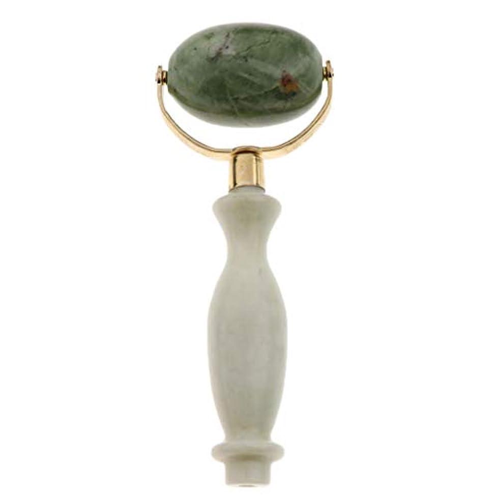 鉛幻想的雑多なFLAMEER 美容ローラー 美顔ローラー  フェイシャル マッサージ 美顔器 美肌 天然 翡翠石 2種選ぶ 健康 - スタイル2
