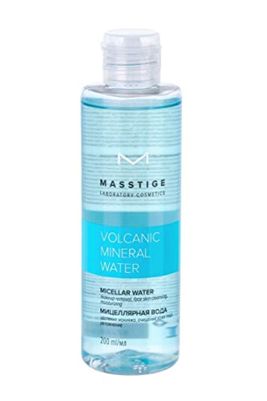 炎上極小特権的MASSTIGE   Volcanic Mineral Water   Micellar Water   Extract Of Dead Sea Minerals   Vitamin Complex (200ml)
