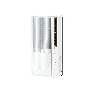 コイズミ 窓用エアコン ホワイト KAW-1683/W