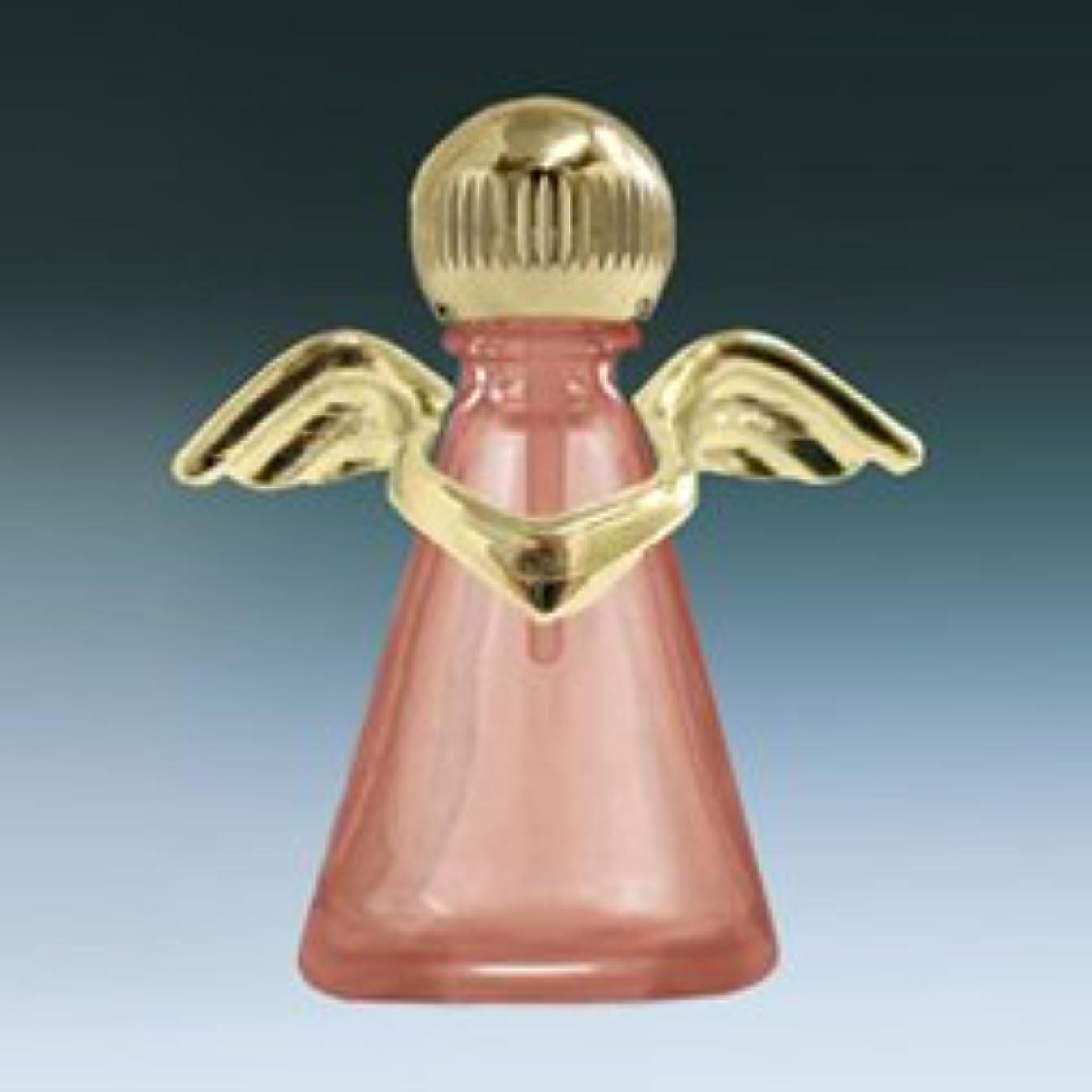 上に築きます褐色つかむ【ヤマダアトマイザー】パフュームボトル 小ビン 10676 天使 ピンク1 ゴールド 約2.5ml