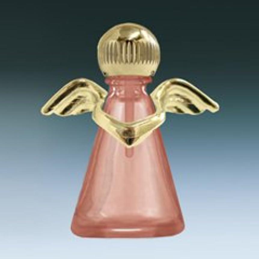 矛盾する致命的なタブレット【ヤマダアトマイザー】パフュームボトル 小ビン 10676 天使 ピンク1 ゴールド 約2.5ml