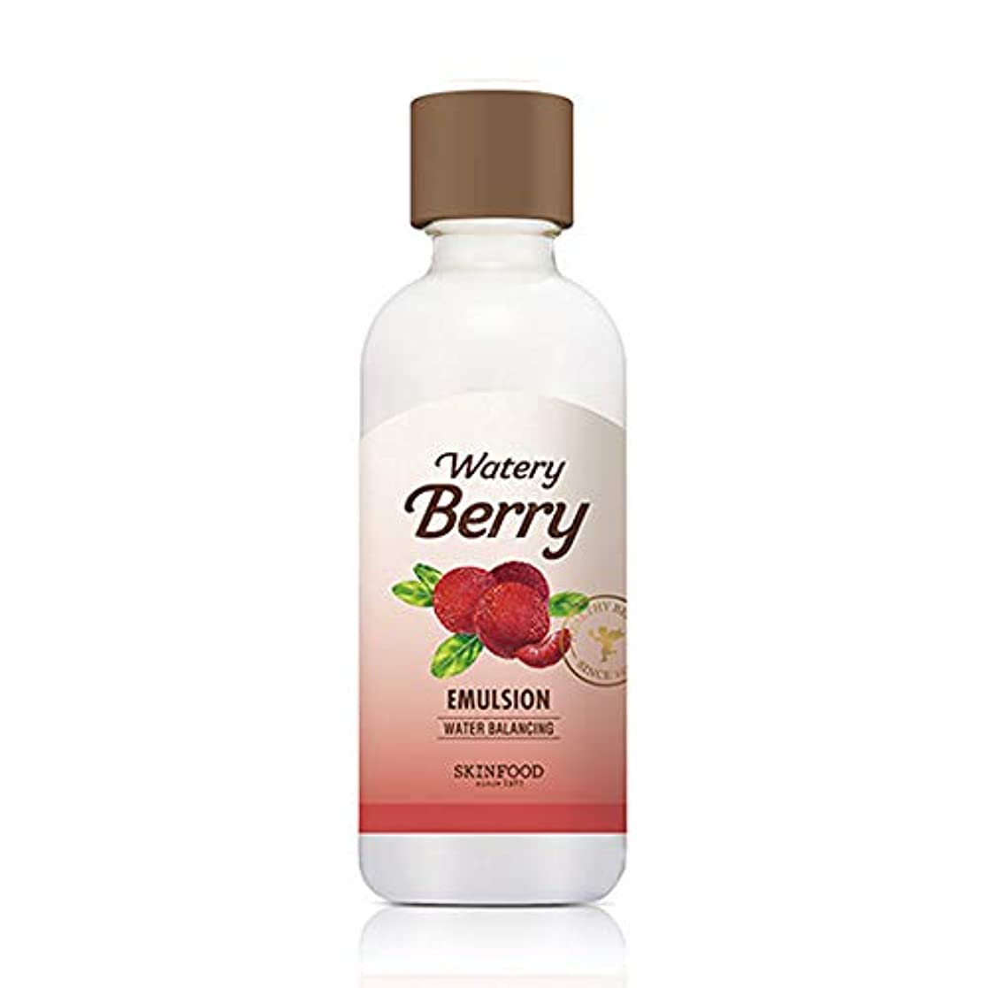 正午シャー蒸Skinfood 水っぽい新鮮なエマルジョン/watery berry fresh emulsion 160ml [並行輸入品]