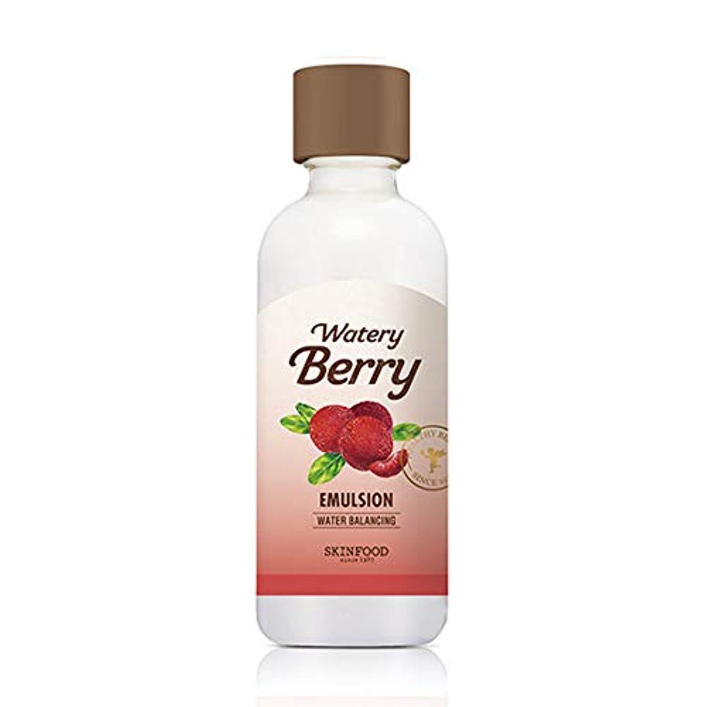 ハシー塩辛いネズミSkinfood 水っぽい新鮮なエマルジョン/watery berry fresh emulsion 160ml [並行輸入品]
