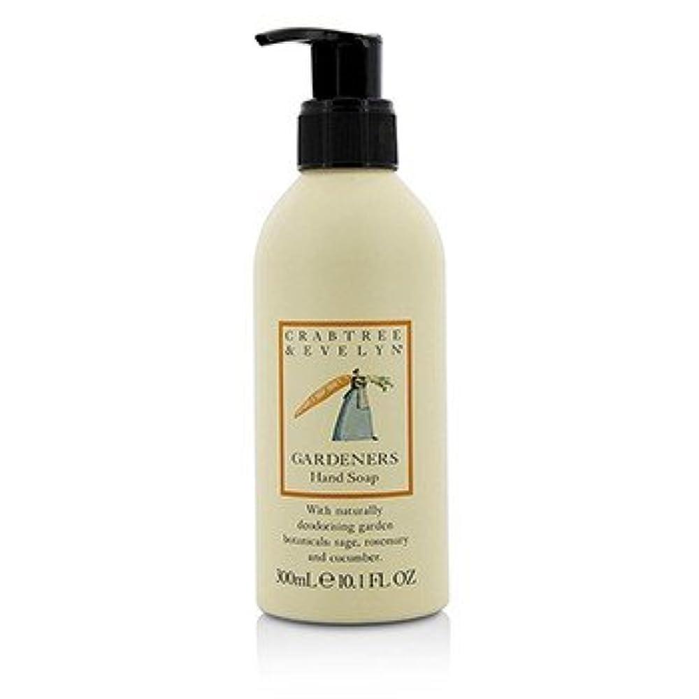 薬用金貸しわかる[Crabtree & Evelyn] Gardeners Hand Soap 300ml/10.1oz