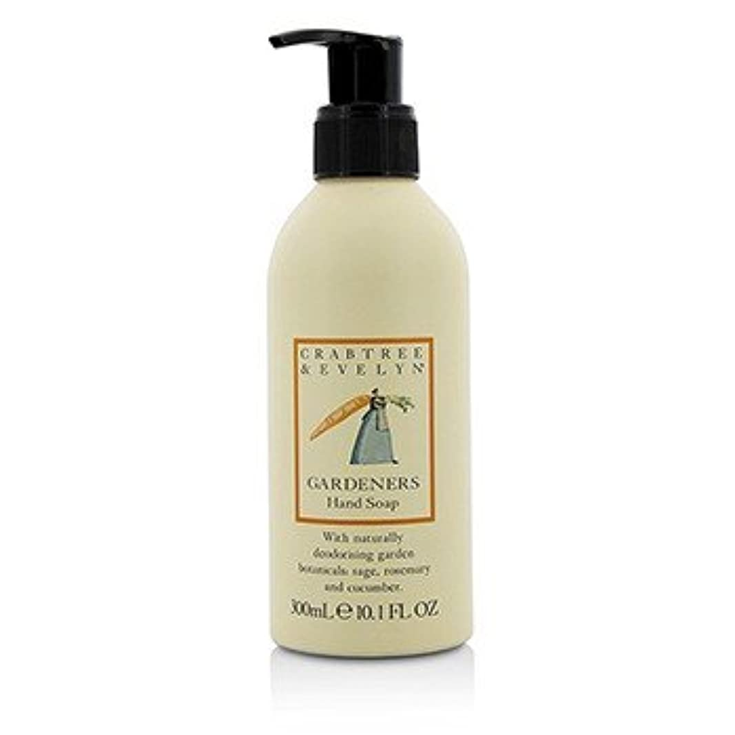 素人お嬢熟考する[Crabtree & Evelyn] Gardeners Hand Soap 300ml/10.1oz