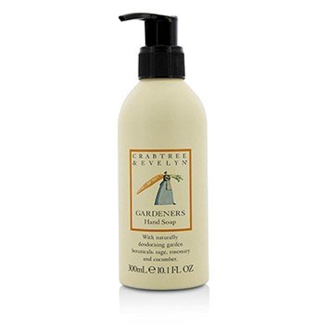 割り当てる移動筋肉の[Crabtree & Evelyn] Gardeners Hand Soap 300ml/10.1oz