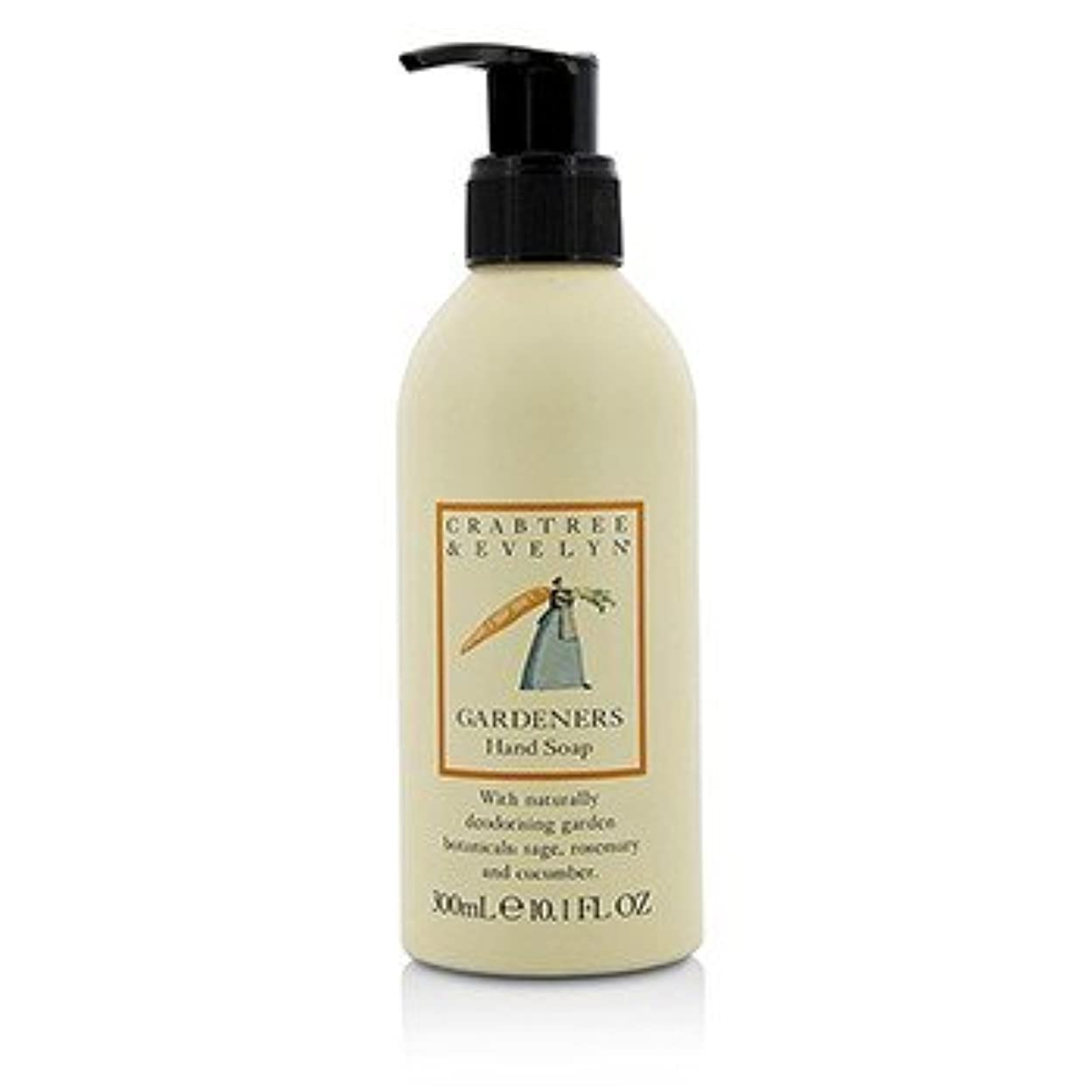真夜中シャットテキスト[Crabtree & Evelyn] Gardeners Hand Soap 300ml/10.1oz