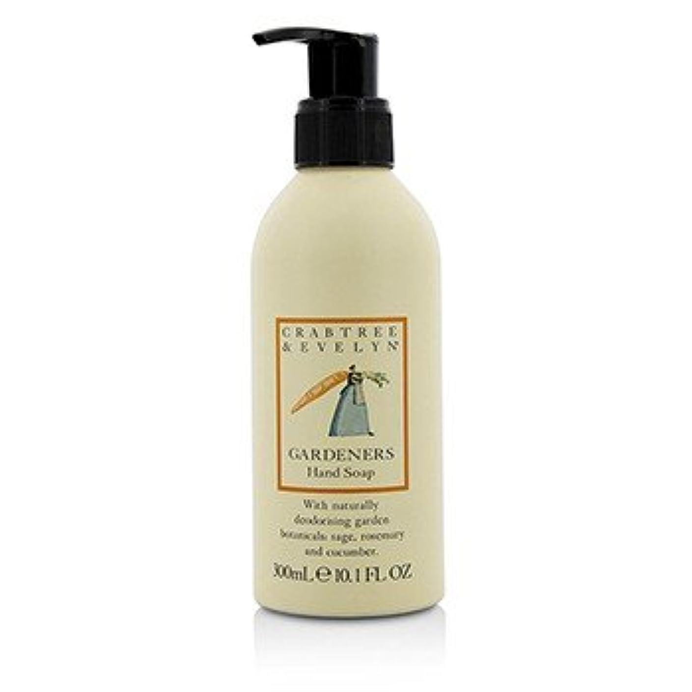 ハンディ宿る出します[Crabtree & Evelyn] Gardeners Hand Soap 300ml/10.1oz