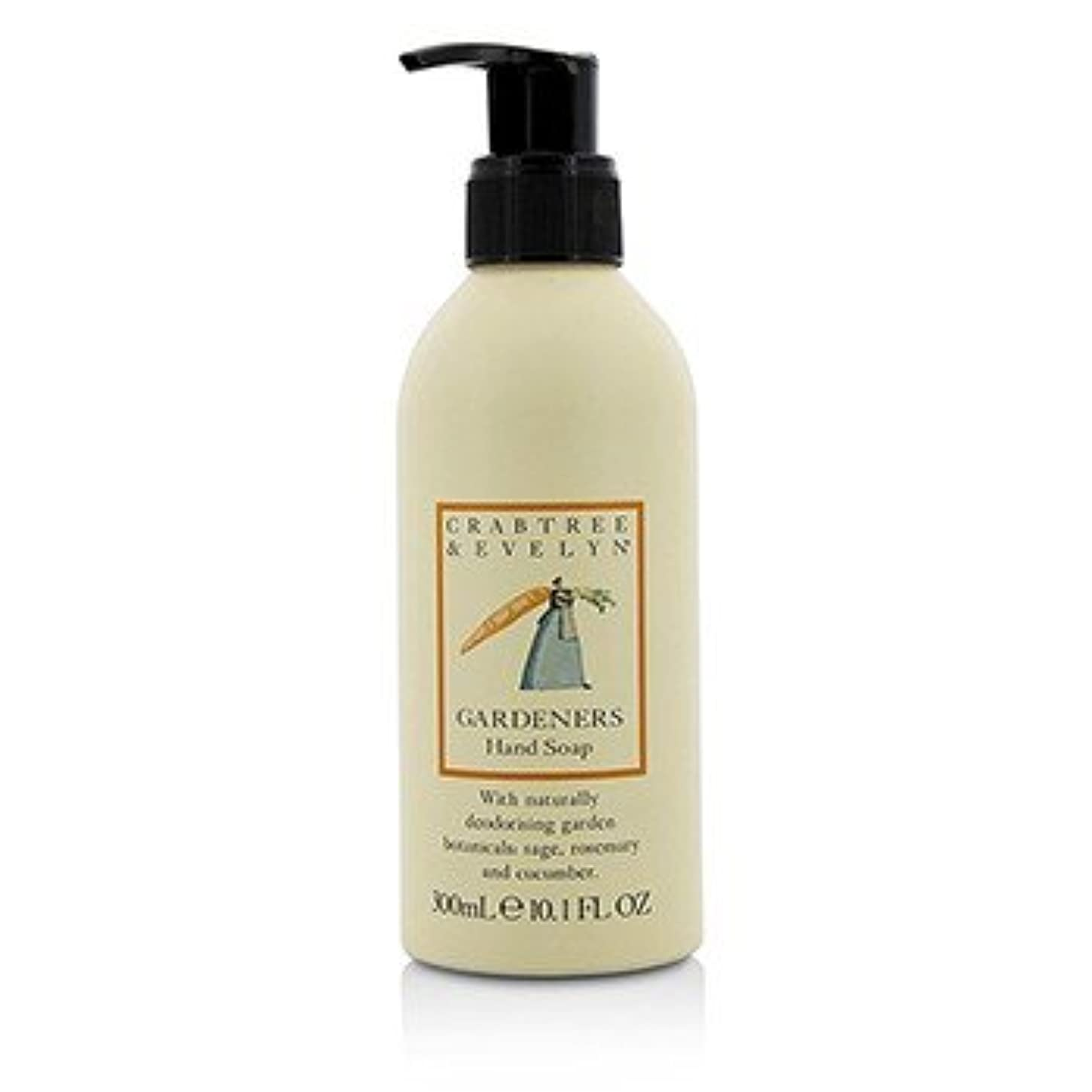 忙しい着替える褒賞[Crabtree & Evelyn] Gardeners Hand Soap 300ml/10.1oz