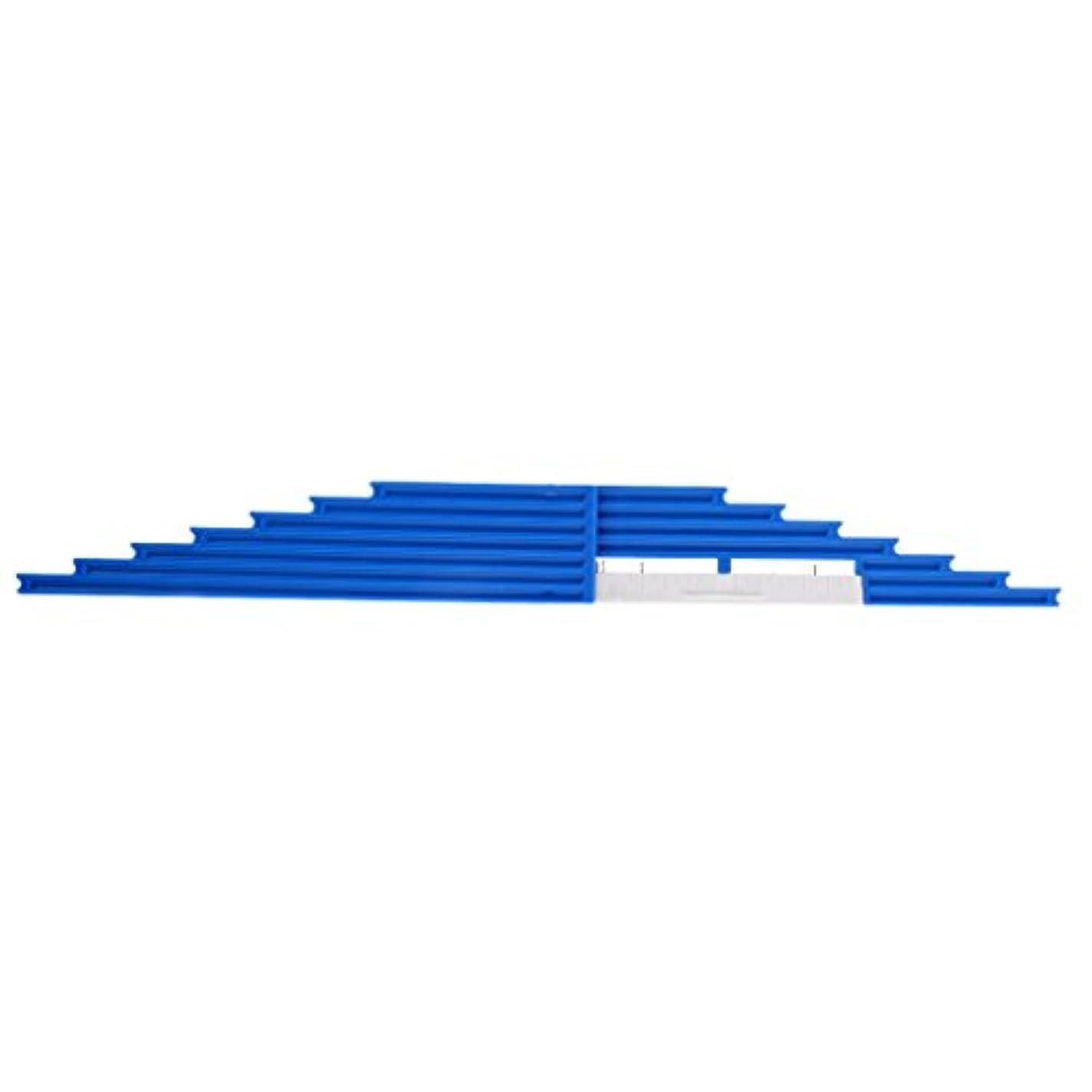 征服者規制報復するFenteer 釣り糸 長さ 標準ルーラー ABS製 ハード プラスチック 釣糸 定規 タックル ラインボード 3色選べ