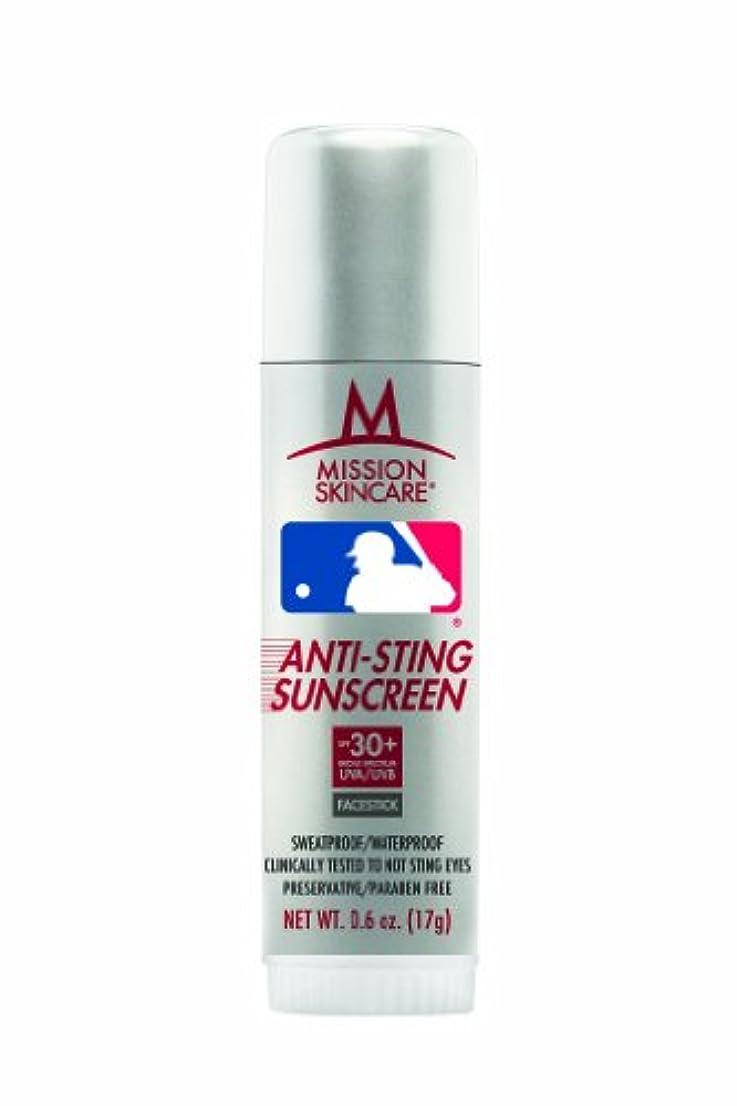 アンビエント説明不要MLBメジャーリーグnoスティング日焼け止めFacestick SPF 30 +、0.6-ounceスティック