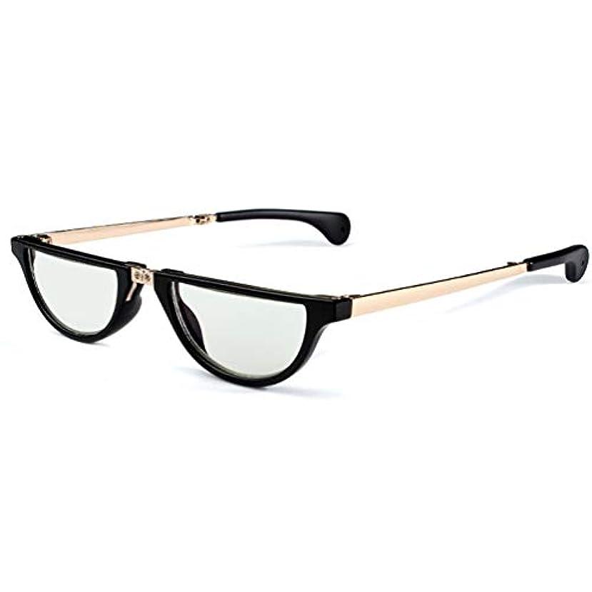 折り畳み式老眼鏡、眼鏡、遠用と近用の両用日よけ - 男性と女性用