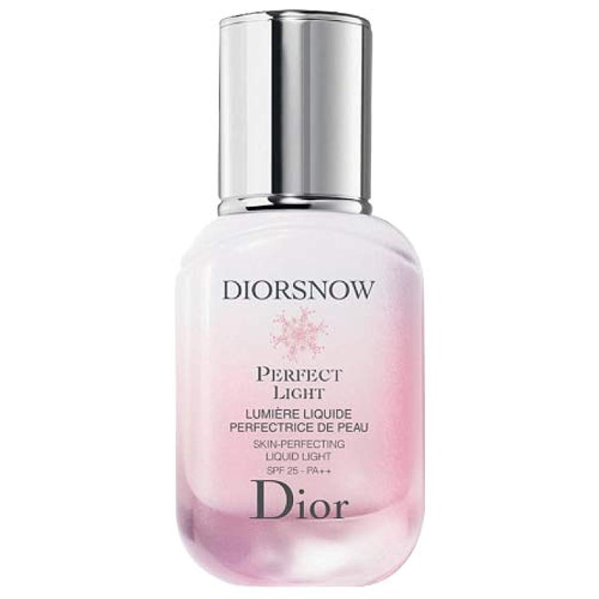 厚くするどこでも蒸気クリスチャンディオール Christian Dior スノーパーフェクト ライト SPF25/PA++ 30mL [並行輸入品]