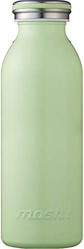 水筒 真空断熱 スクリュー式 マグ ボトル 0.45L グリーン mosh! (モッシュ! ) DMMB450GR