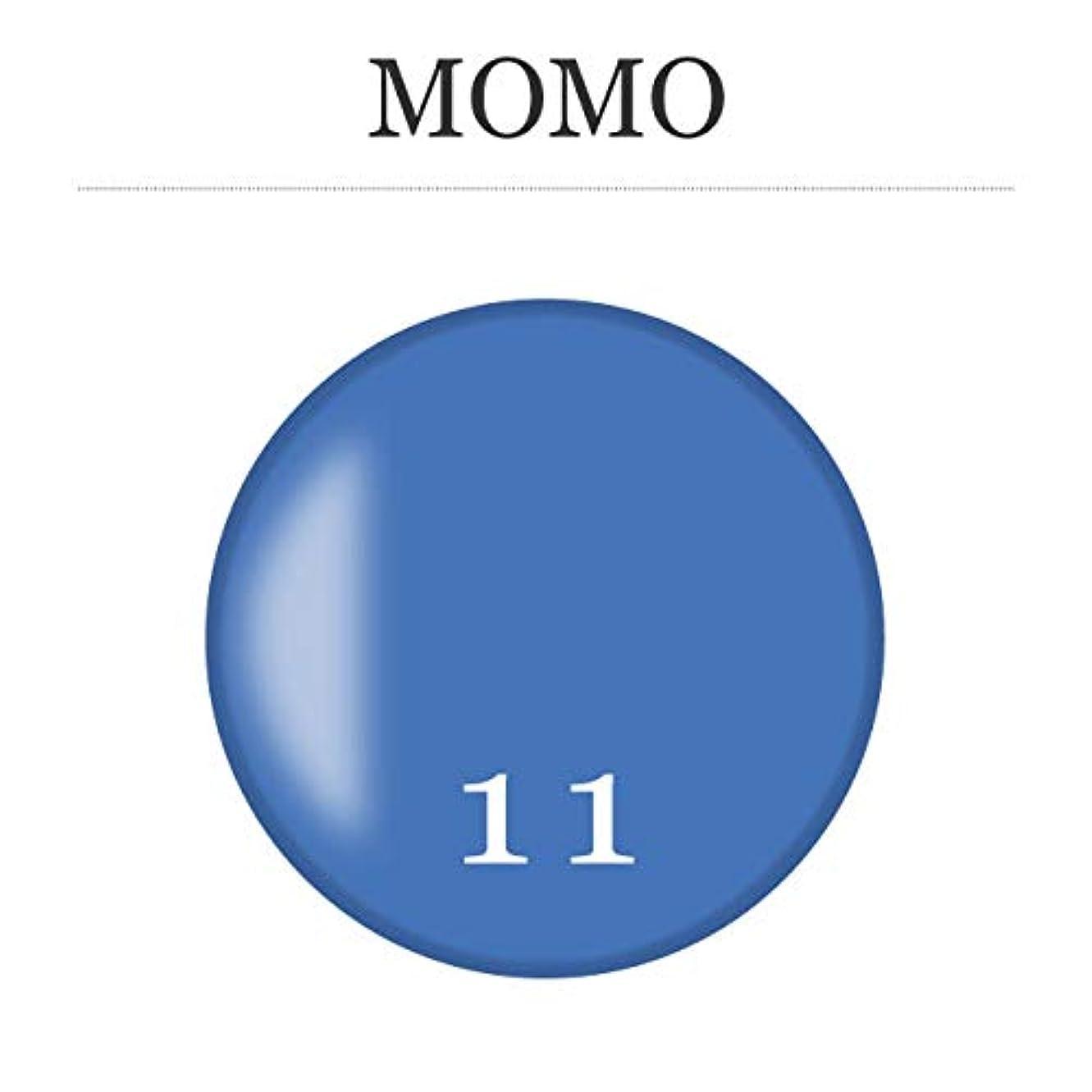 カウントアップ切断する広々カラージェル MOMO-11 by nail for all