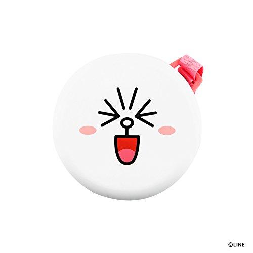 LINE FRIENDS モバイルバッテリー コニー 5200mAh マカロン スマートフォン 充電器 ラインフレンズ ストラップ付き【日本正規代理店品】 KCL-LPB003