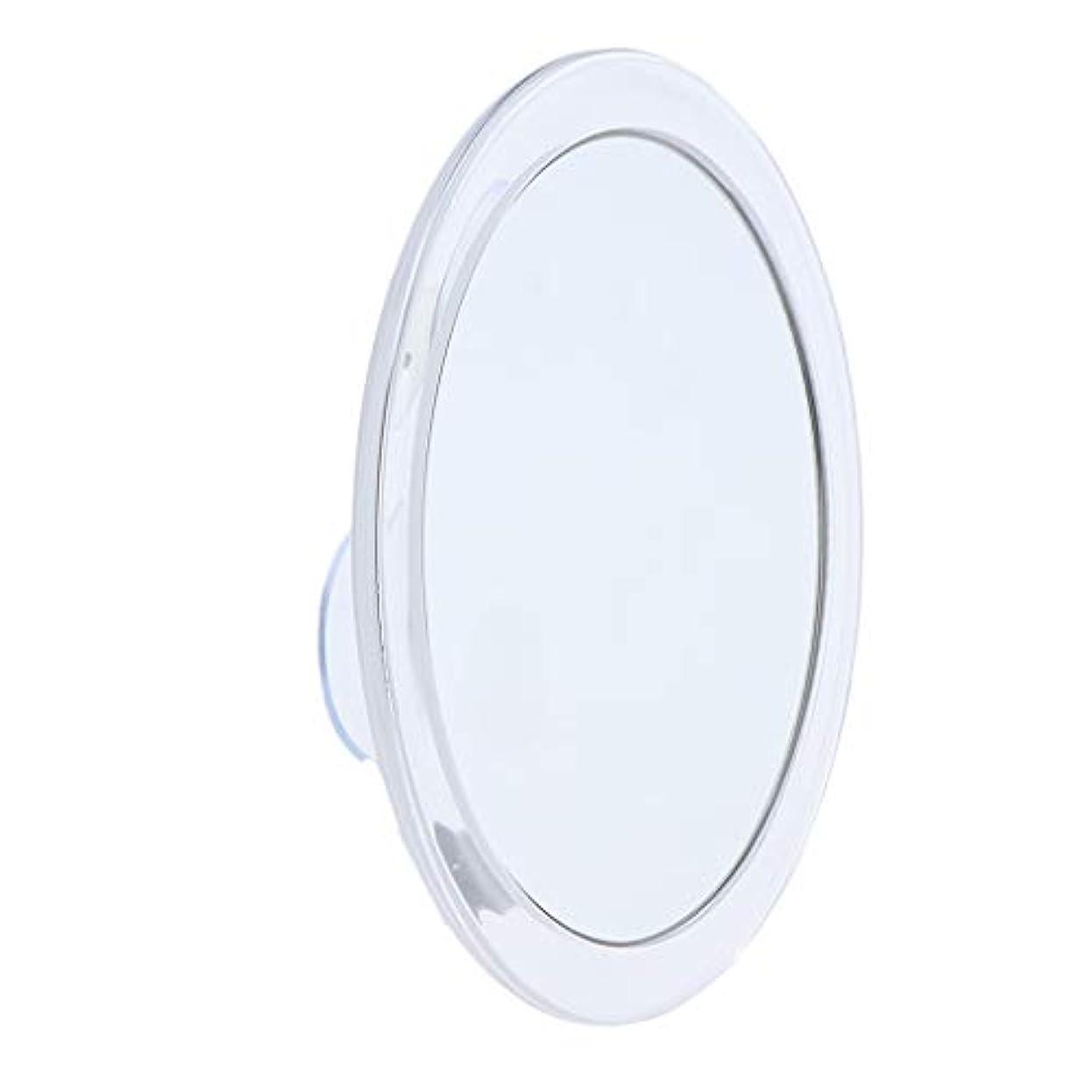 正義ファセットショートカットToygogo サクションミラー 化粧ミラー 化粧鏡 メイクアップミラー 5倍 拡大鏡 吸盤付き