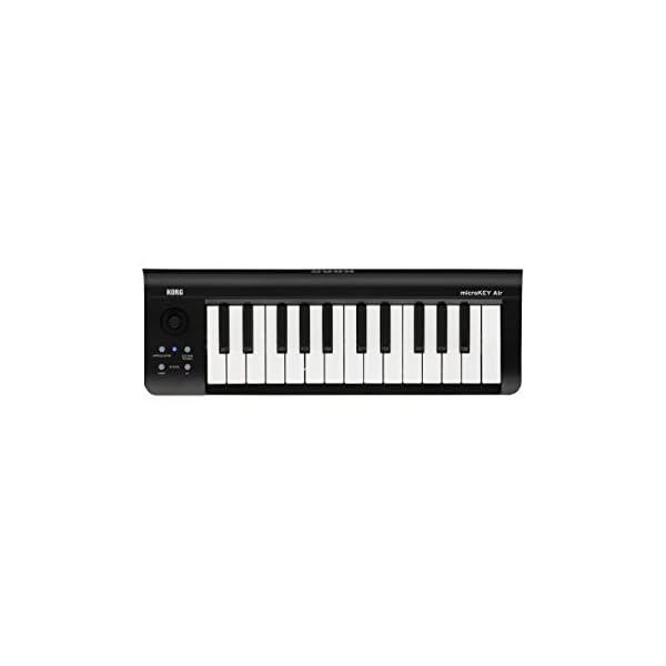 KORG ワイヤレス接続対応MIDIキーボード ...の商品画像
