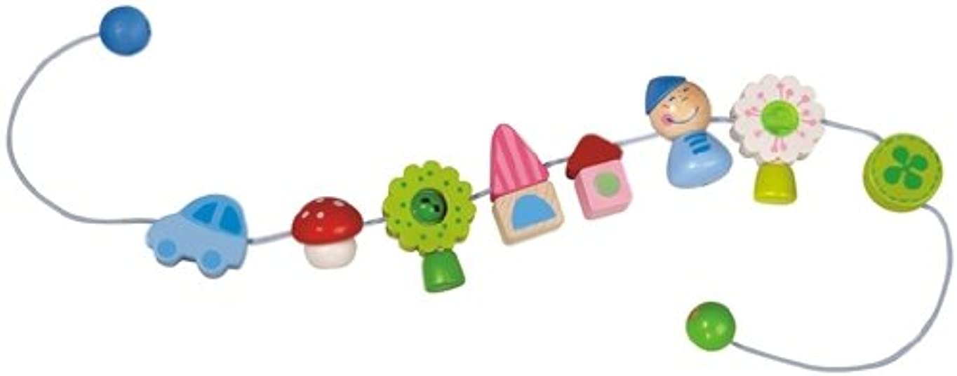 逆さまに測定スワップHABA Pixie's World Pram Decoration by HABA