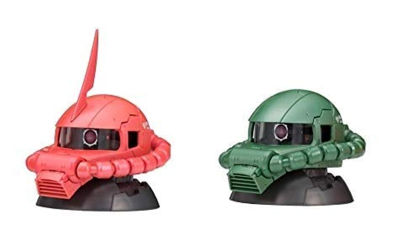 機動戦士ガンダム EXCEED MODEL ZAKU HEAD エクシードモデル ザクヘッド 6 2種セット