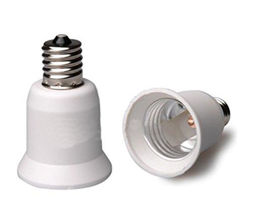 [해외]6 개 세트 E-Simpo®E17~E26 어댑터~ E17-E26 | E27 캡 어댑터 당신이 E17기구 | 홀더 E26 | E27 램프를 설치할 수/6 pieces E-Simpo® E17 to E26 adapter~ E17-E26 | E27 cap conversion adapter~ you can install E26 | E27 lamp on E17 instrume...