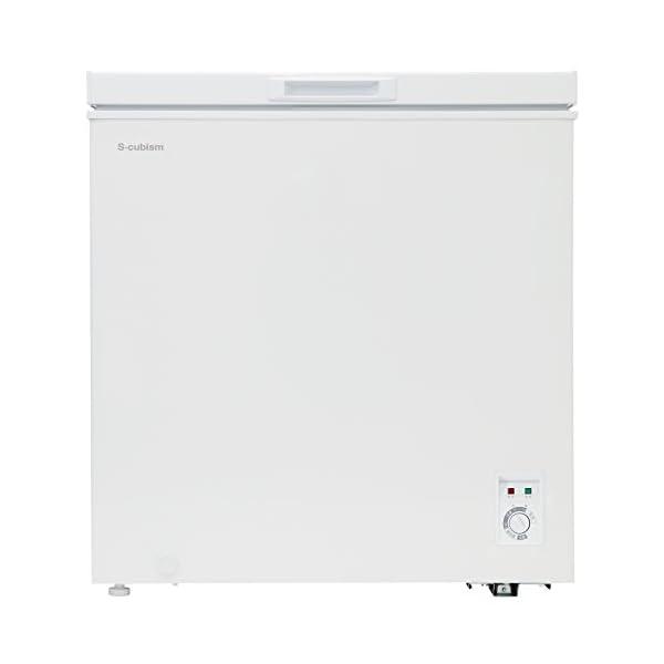 チェスト型冷凍庫 142L ホワイト 庫内灯付...の紹介画像2