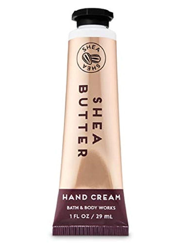横に習熟度散らすバス&ボディワークス シアバター ハンドクリーム Shea Butter Hand Cream