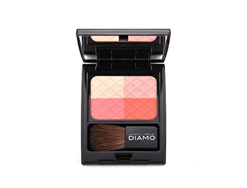 ソファー承認するディアモ(DIAMO) チークカラー ソーシャンブルオレンジ (OR-01) 7.5g