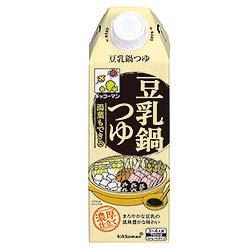 キッコーマン 湯葉もできる豆乳つゆ 750ml紙パック×6本...