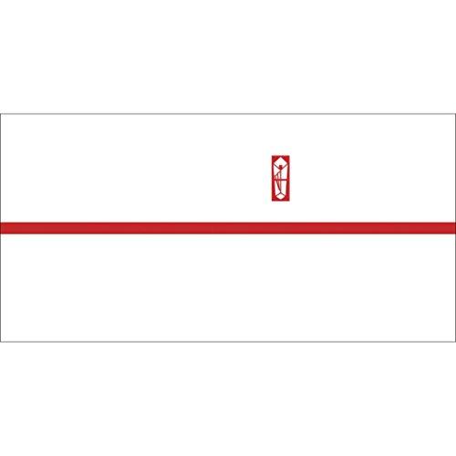 OA対応のし紙 熨斗紙 豆判6号 赤棒 京 2-676 1セット 1000枚:100枚×10冊