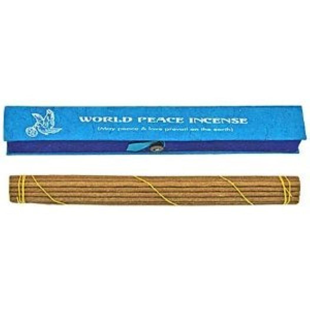 勢い昼食環境World Peace Incense Tibetan Incense Sticks