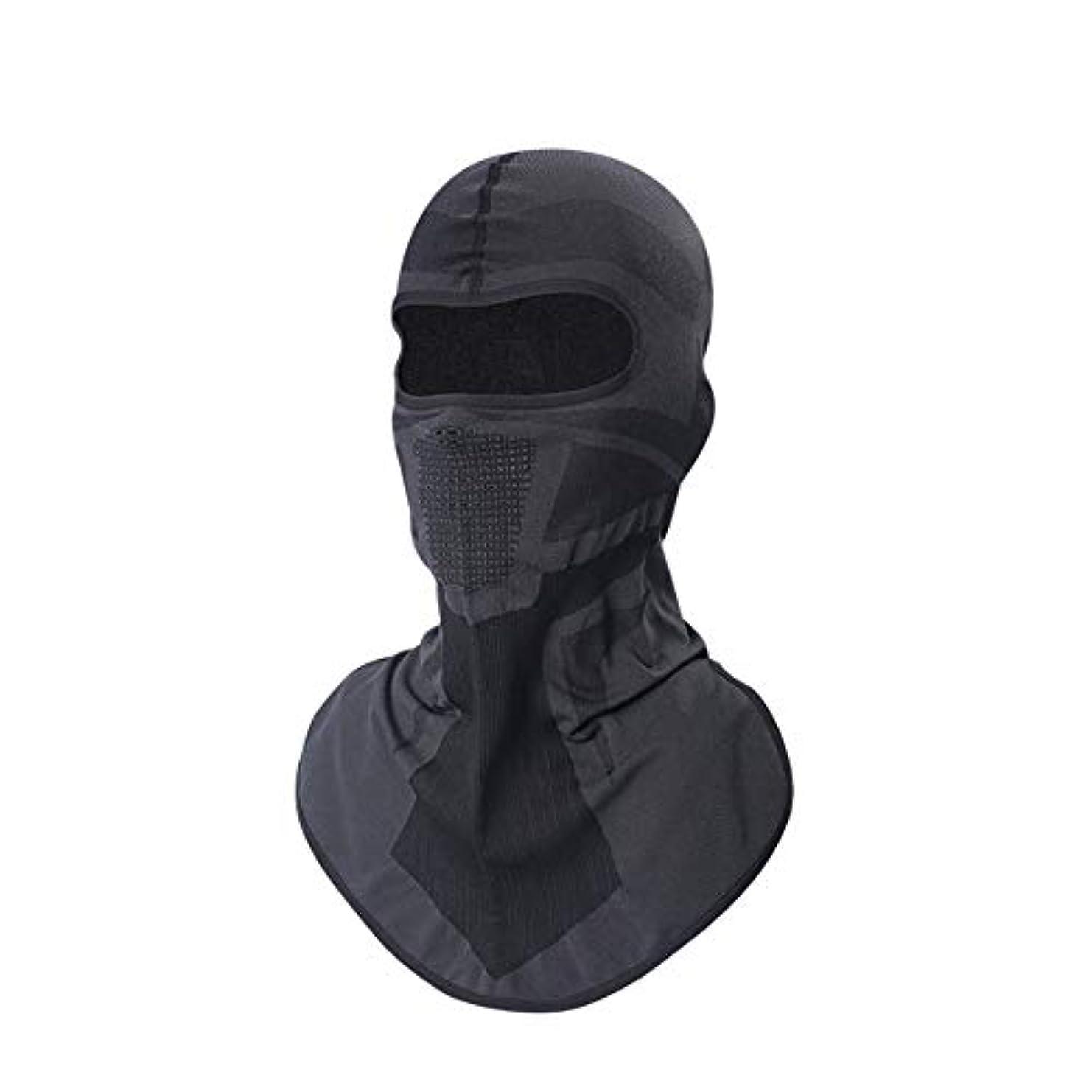 パッケージ懐疑的寄託マスク日焼け止めオートバイフード男性通気性フード付きヘルメット裏地保護フルフェイスマスク