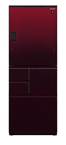 シャープ メガフリーザー 冷蔵庫 502L グラデーションレッド SJ-WX50D-R