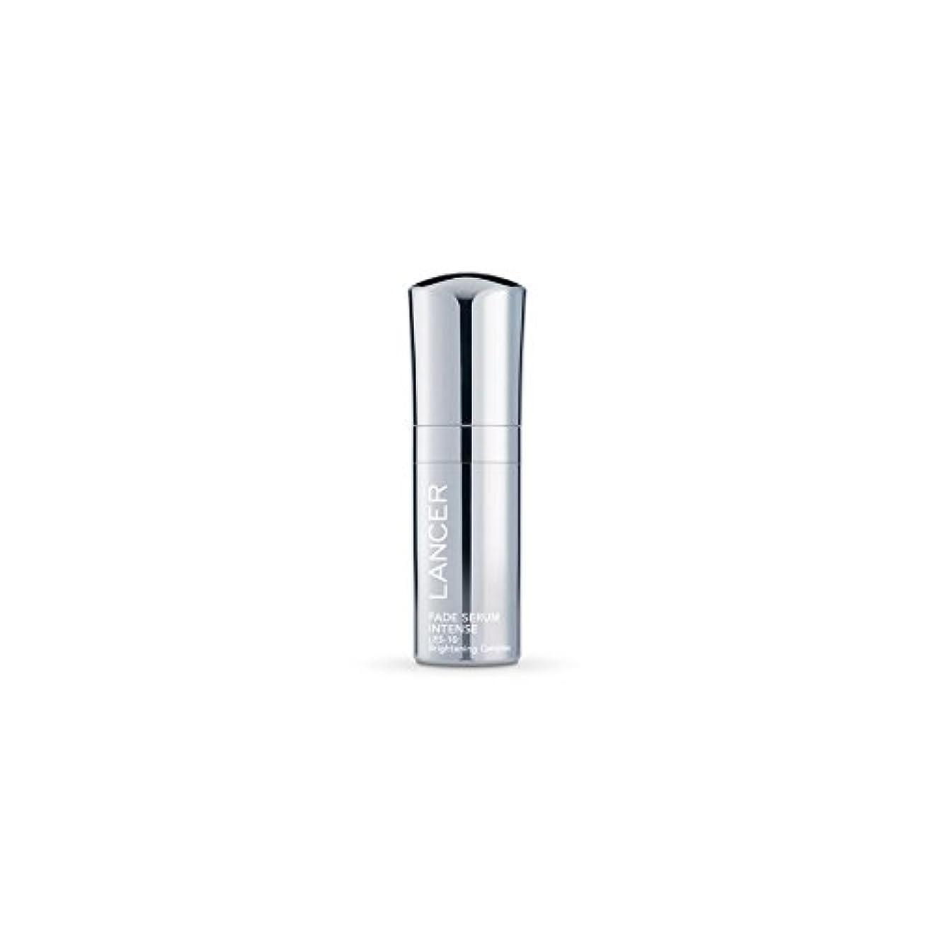 耐久夕食を作るポスト印象派Lancer Skincare Fade Serum Intense (30ml) - 強烈ランサースキンケアフェード血清(30ミリリットル) [並行輸入品]