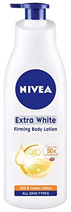 タンパク質マニフェスト提供するNIVEA Extra White Smooth & Firm Q10 Body Lotion 400ml