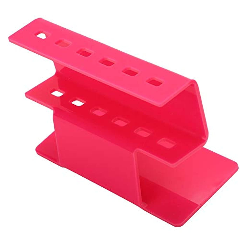 ピンセットスタンドホルダー、まつげエクステ用プラスチックピンセットシェルフホルダー収納ラック、ピンセットスクレーパーシザーツールアクセサリー、まつげエクステンション用ピンセット表示ツール